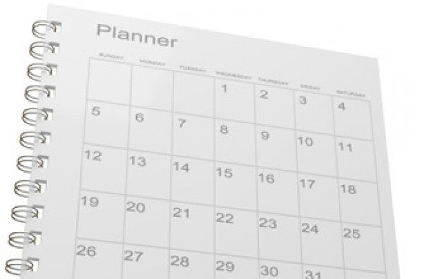 a monthly planner