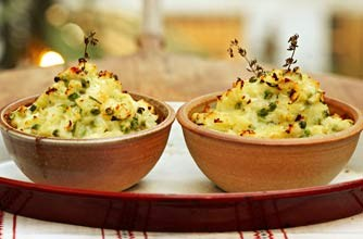 Sophie Dahl's Shepherd's pie with champ recipe from The Delicious Miss Dahl
