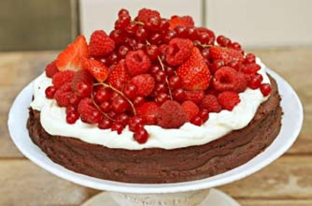 Sophie Dahl's flourless chocolate cake recipe from The Delicious Miss Dahl