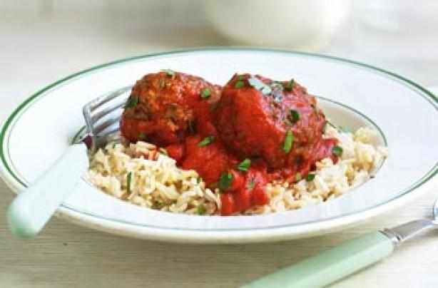 Gino D'Acampo's light spicy meatballs recipe