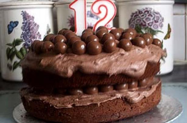 Karen Fraser's Maltesers cake