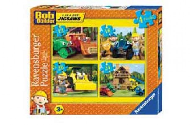 Bob the Builder - 4 in a Box Puzzles