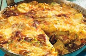 chorizo tortilla