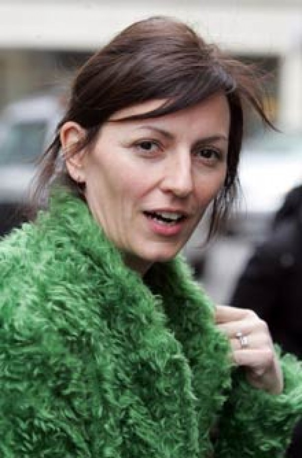 Davina McCall, celebrity, no make-up,