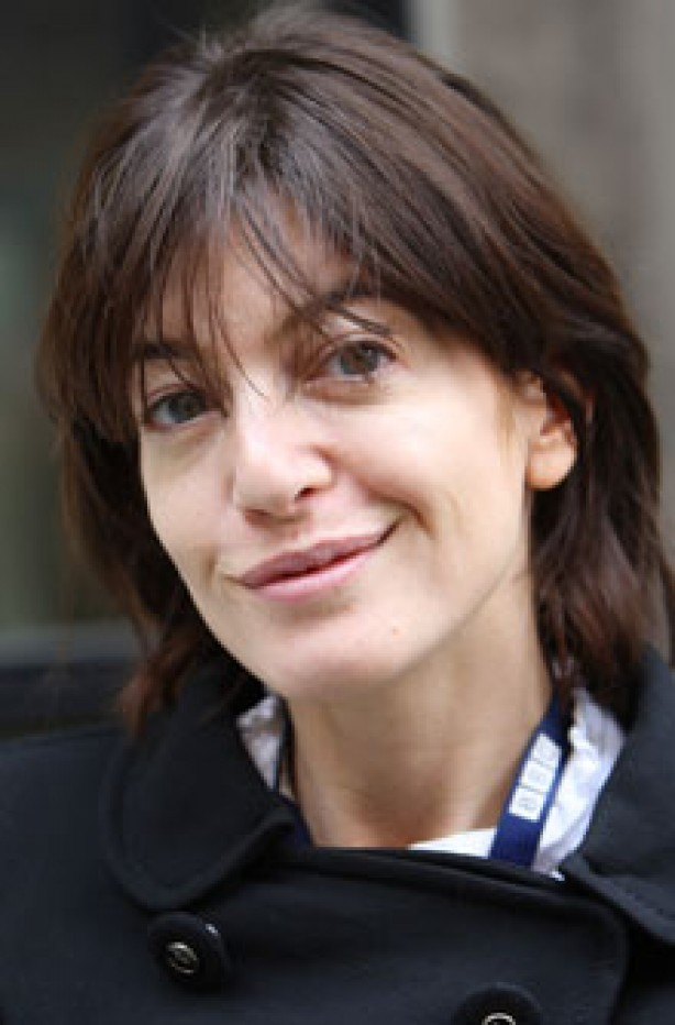 Claudia Winkleman, celebrity, no make-up,