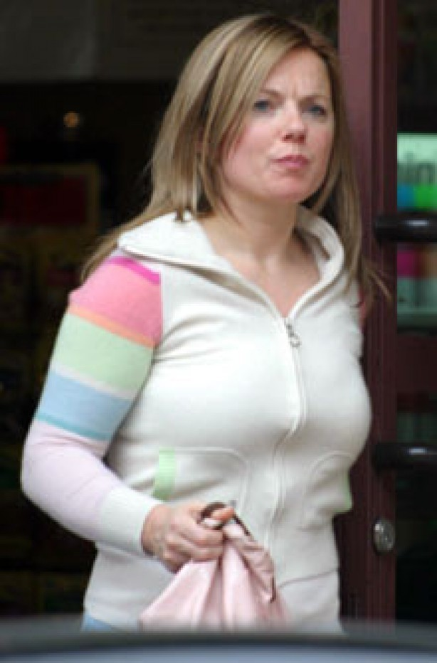Geri Halliwell, celebrity, no make-up,