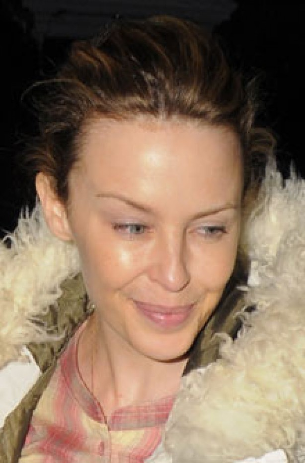 Kylie Minogue, celebrity, no make-up,