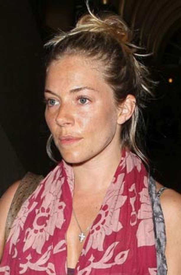 Sienna Miller, celebrity, no make-up,