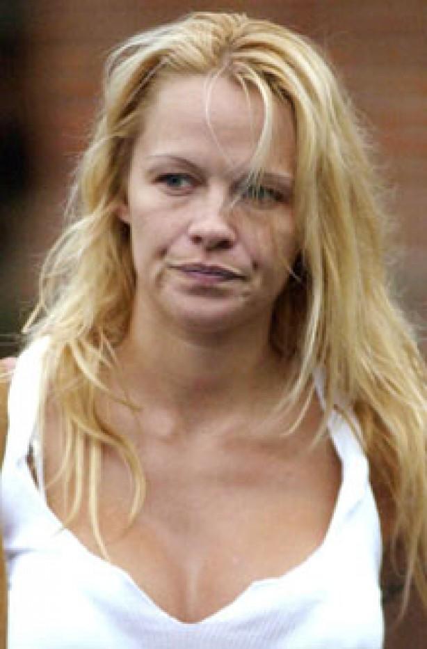 Pamela Anderson, celebrity, no make-up,
