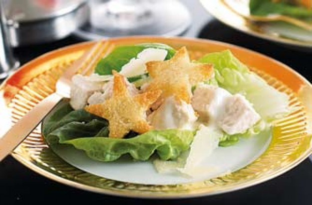 Annabel Karmel's chicken Caesar salad