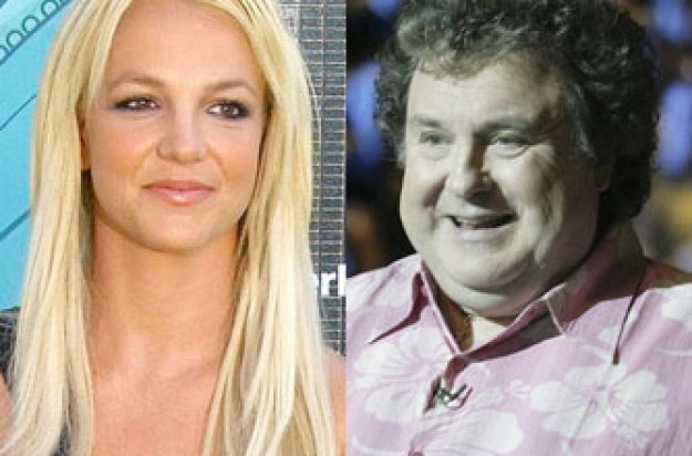 Britney Spears and Russell Grant