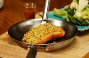 SureSlim's salmon sesame crust recipe