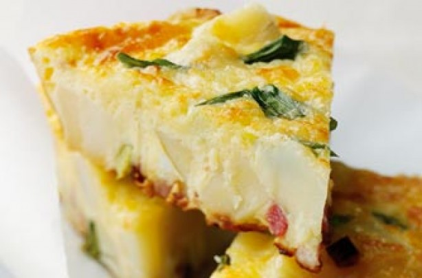 Gary Rhodes' bacon and cheese frittata recipe