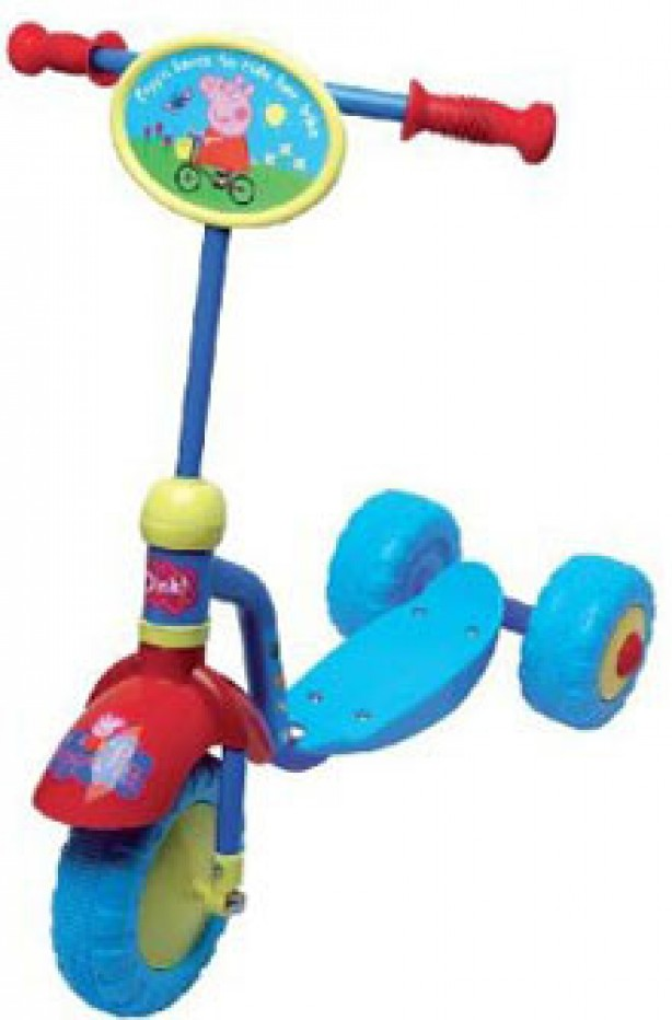 Peppa Pig 3-Wheel Scooter