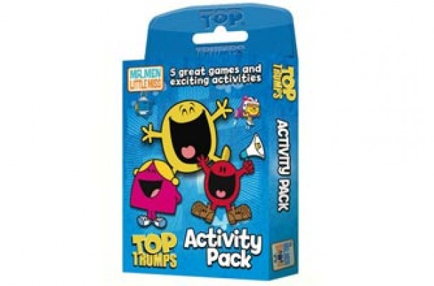 Mr Men Top Trumps Activity Set