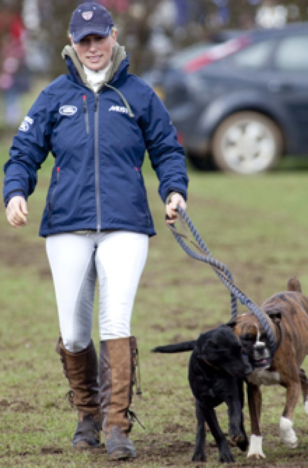Zara Phillips, celebrity dogs, dogs, celebrities