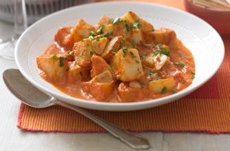 Herby patatas bravas recipe - goodtoknow