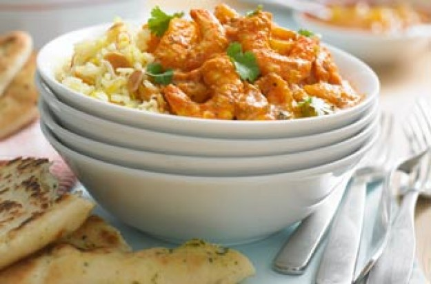 Essentials magazine, summery prawn tikka masala