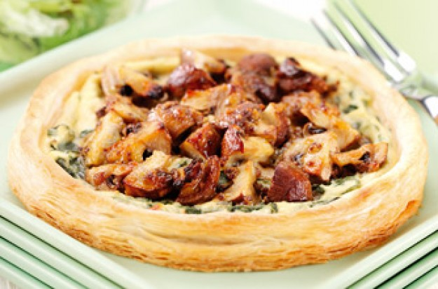 Mushroom, spinach and ricotta tarts recipe - goodtoknow