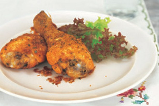 Parmesan chicken drumsticks :: Chicken recipes :: goodtoknow