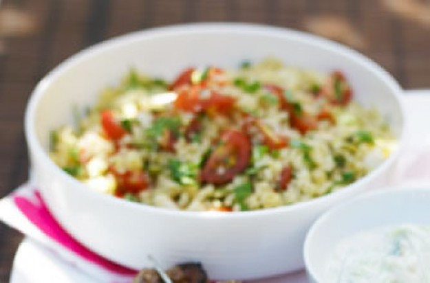 Essentials magazine, nutty couscous salad