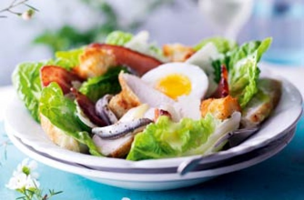 Essentials magazine, chicken Caesar salad