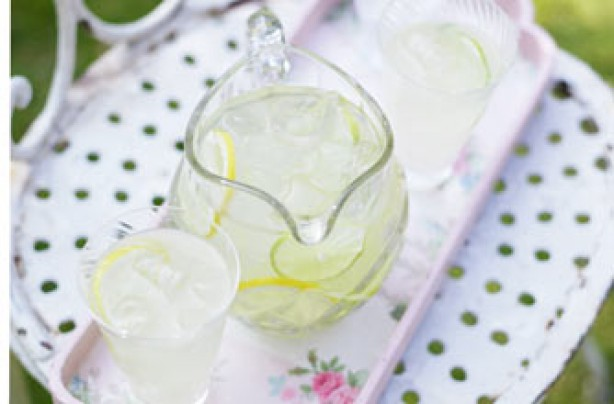 Essentials magazine homemade cloudy lemon and limeade