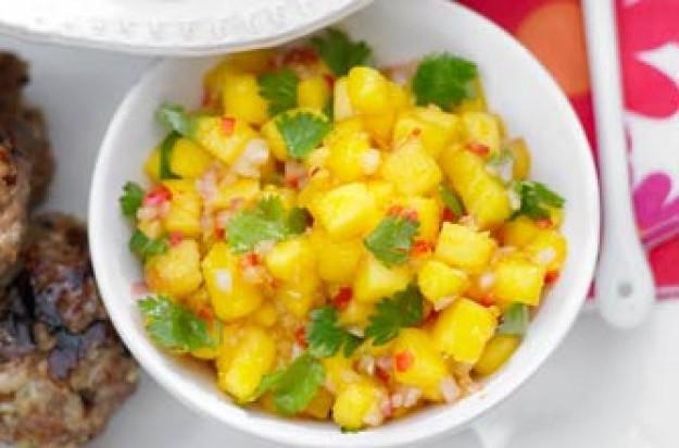Essentials magazine, fruity salsa