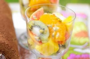 Essentials magazine, exotic fruit salad