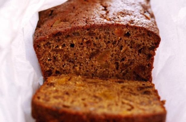 Nearly fat-free fruit loaf recipe