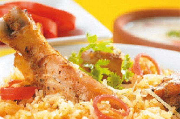 Chicken pilau rice
