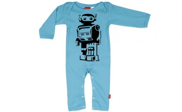 robot romper, baby clothes