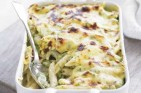 Neven Maguire's broad bean and penne gratin