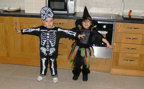 Your fancy dress pictures: Travis and Macy