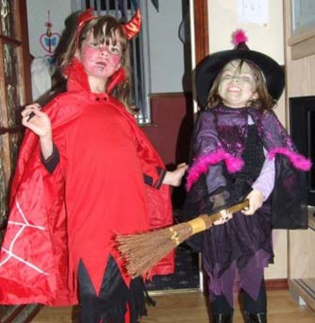 Your fancy dress pictures: Robyn and Libby