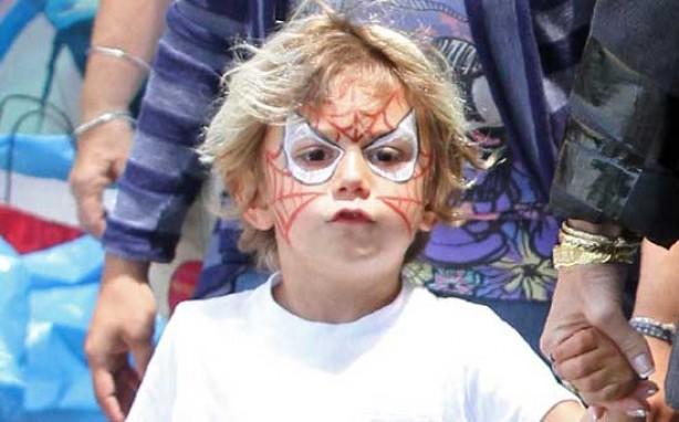 Gwen Stefani's son Kingston in fancy dress