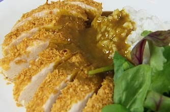Gizzi Erskine's chicken katsu curry recipe from Cook Yourself Thin