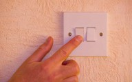 Turning the light switch off