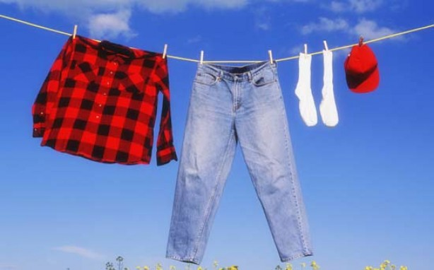 Money saving tips for mums: Dry your clothes on the line