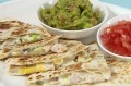 Gizzi Erskine's chicken and mango quesadilla, Cook Yourself Thin recipe