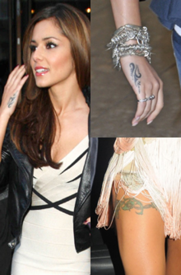 Cheryl Cole, celebrity tattoo, tattoo