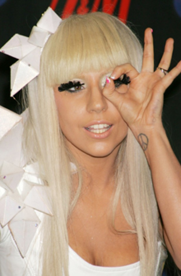 Lady GaGa, celebrity tattoo, tattoo