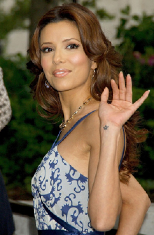 Eva Longoria, celebrity tattoo, tattoo