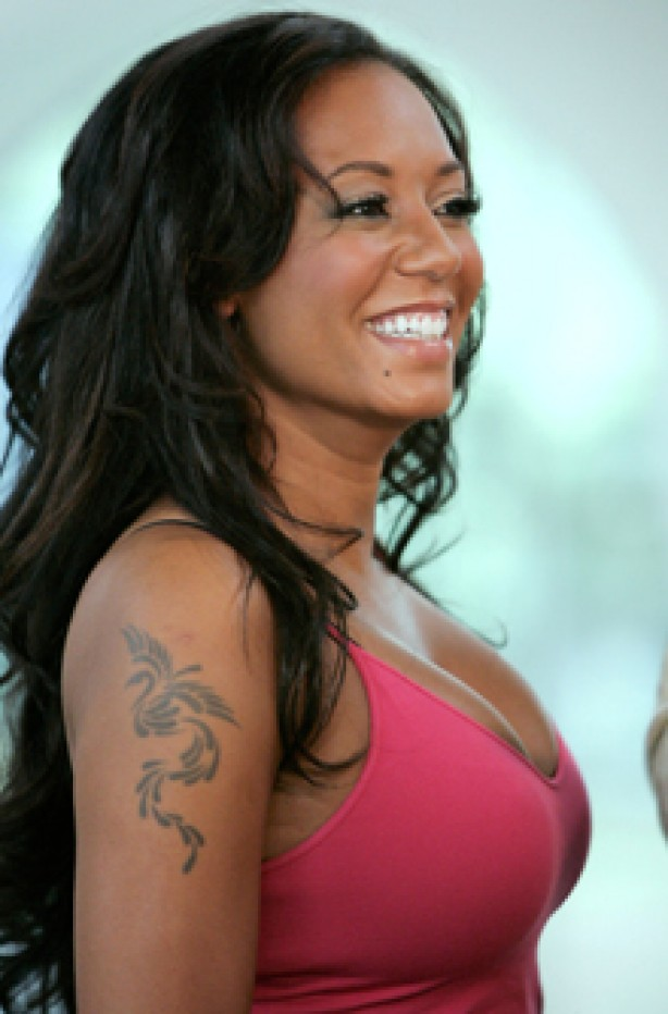 Mel B, celebrity tattoo, tattoo