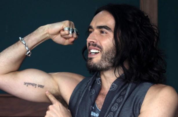 Russell Brand, celebrity tattoo, tattoo