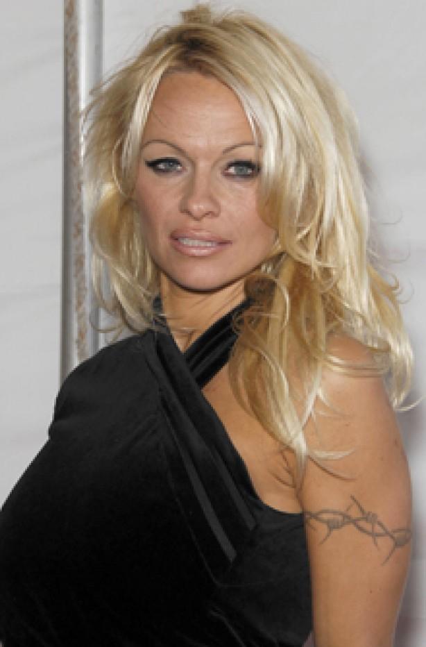 Pamela Anderson, celebrity tattoo, tattoo