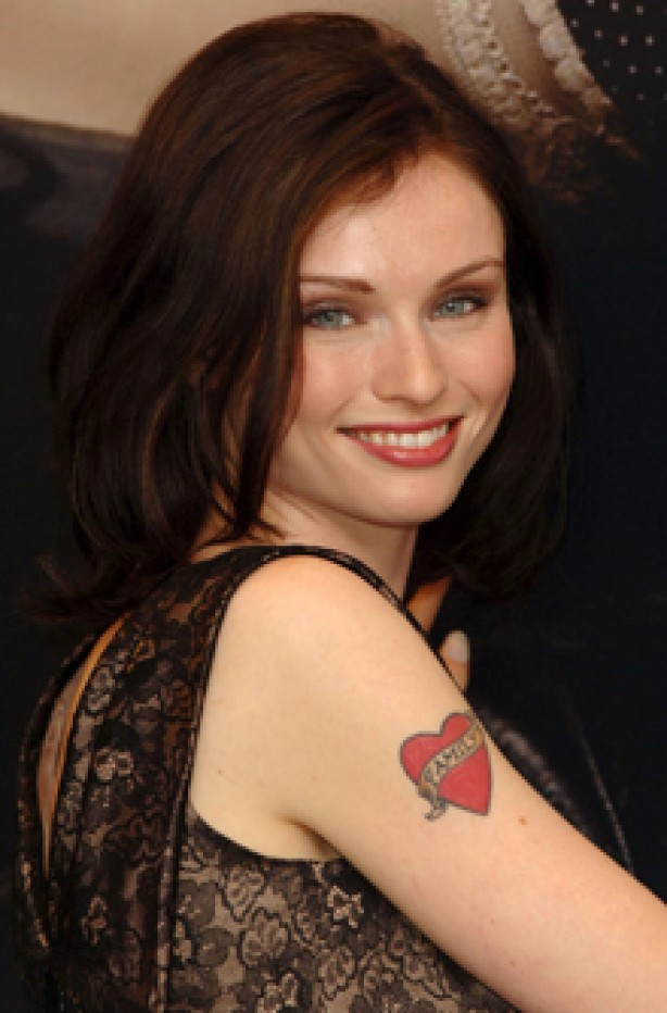 Sophie Ellise-Bextor, celebrity tattoo, tattoo