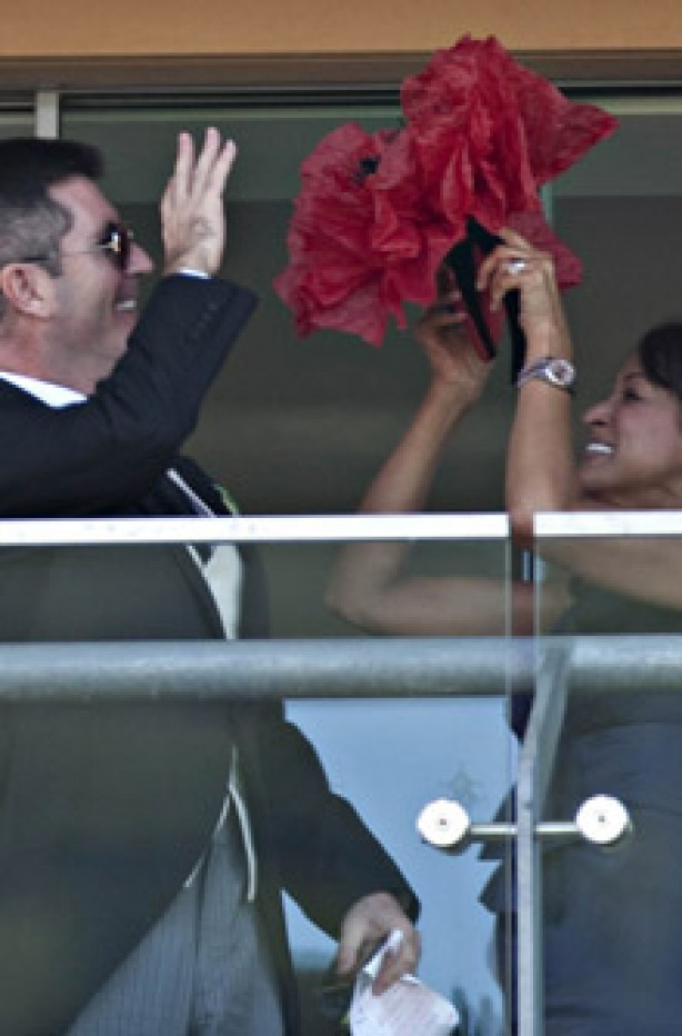 Royal Ascot: How to wear a hat guide: Simon Cowell