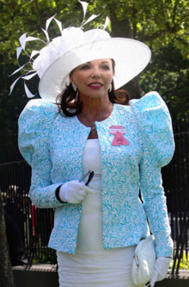 Royal Ascot: Joan Collins