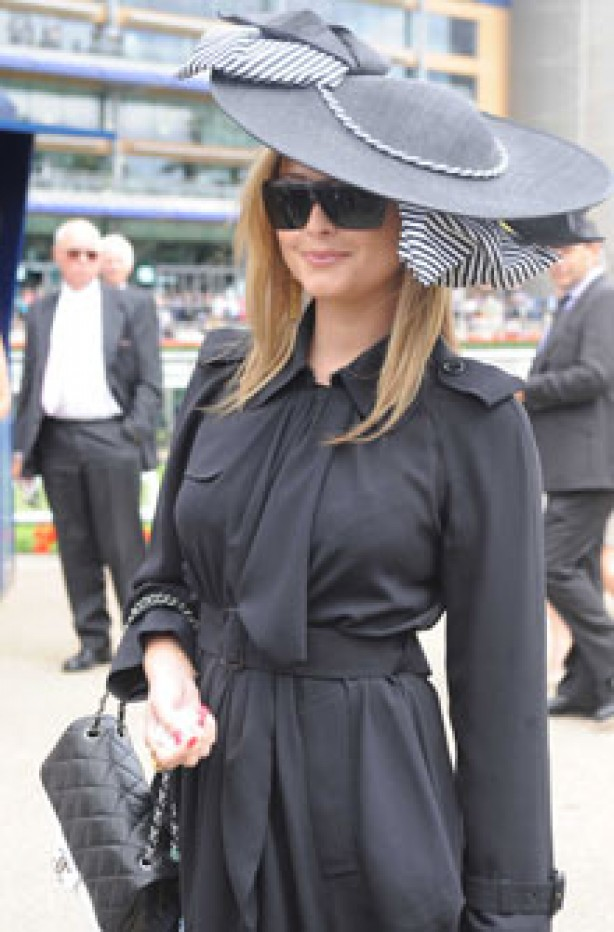 Royal Ascot: Holly Valance